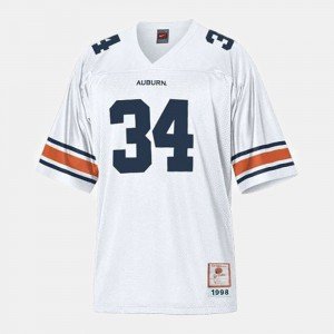Youth(Kids) Tigers #34 Bo Jackson White College Football Jersey 445020-390