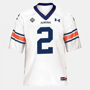 Youth(Kids) AU #2 Cam Newton White College Football Jersey 924176-689