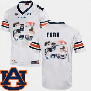 For Men AU #23 Rudy Ford White Pictorial Fashion Football Jersey 673013-870